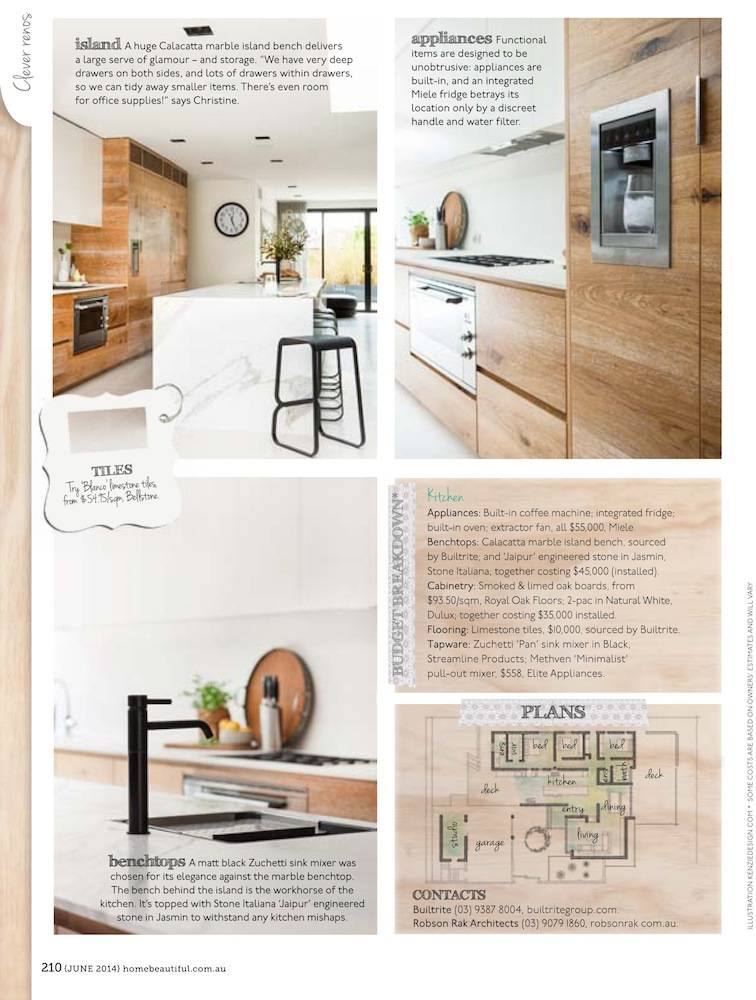 Robson Rak Architects – Home Beautiful June 2014